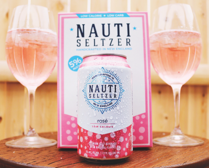Like fruit-based seltzers, rosé variants (Wachusett Brewing's Nauti seltzer) are also popular during the summer, which is the segment's prime season.