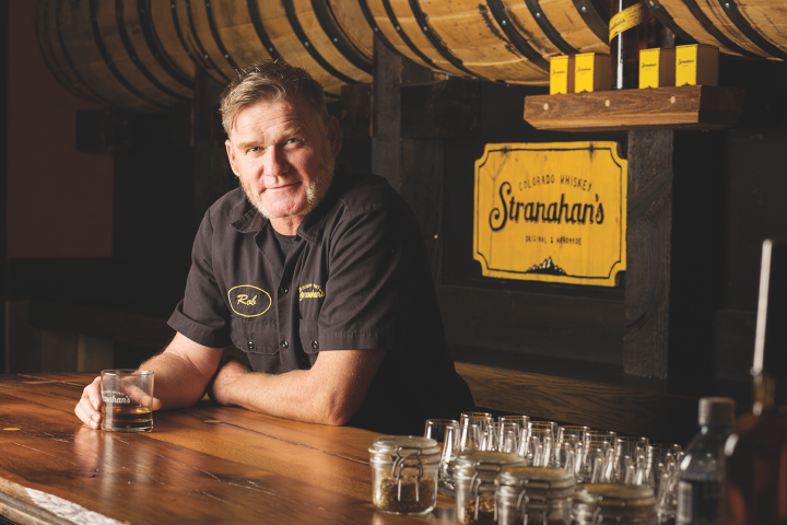 Denver-based Stranahan's (master distiller Rob Dietrich pictured) jumpstarted the Colorado craft distilling renaissance in 2004.