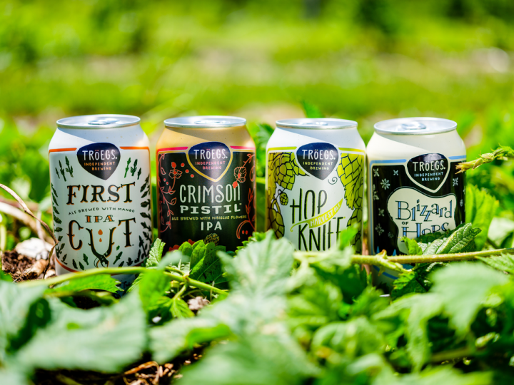 The Hop Cycle series of four seasonal brews represents Tröegs' third largest brand.