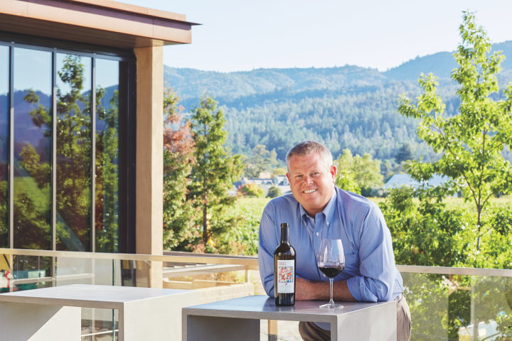 With direct shipments from wineries continuing to grow, some companies, like Hall & Walt Wines (president Mike Reynolds pictured), have worked to balance DTC and the three-tier system.