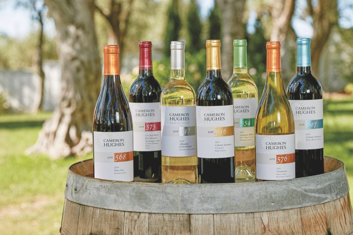 Cameron Hughes Wine (lineup pictured), has fully embraced DTC.