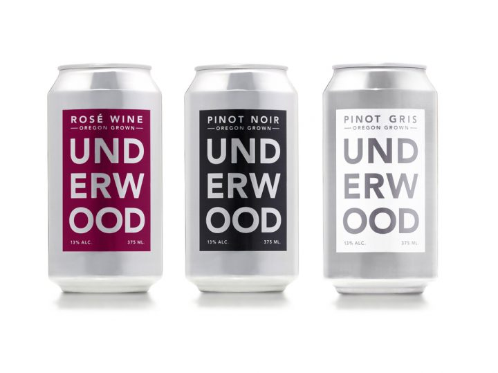 At Viscount Wine & Liquors in Wappingers Falls, New York, Underwood Pinot Noir (Underwood canned wine lineup above) is the No-3. canned wine in the store.
