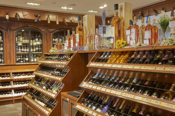Despite challenges throughout Adams' tenure, Sherry-Lehmann's annual revenue is expected to reach $42 million this year. Wine (display above) constitutes a staggering 92% of sales at the store.