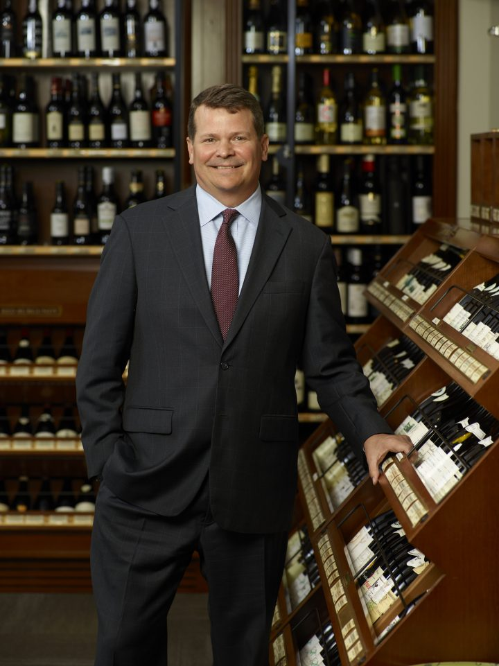 Chris Adams first joined New York's Sherry-Lehmann Inc. in 1997. He became a manager in 2002, a partner in 2005, and was named CEO of the company in 2008.