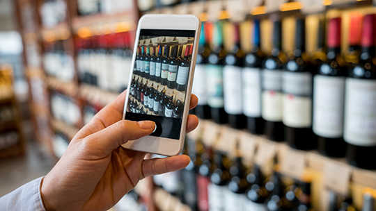 By using mobile apps, wine, spirits, and beer retailers can connect with customers who are looking for instant gratification.