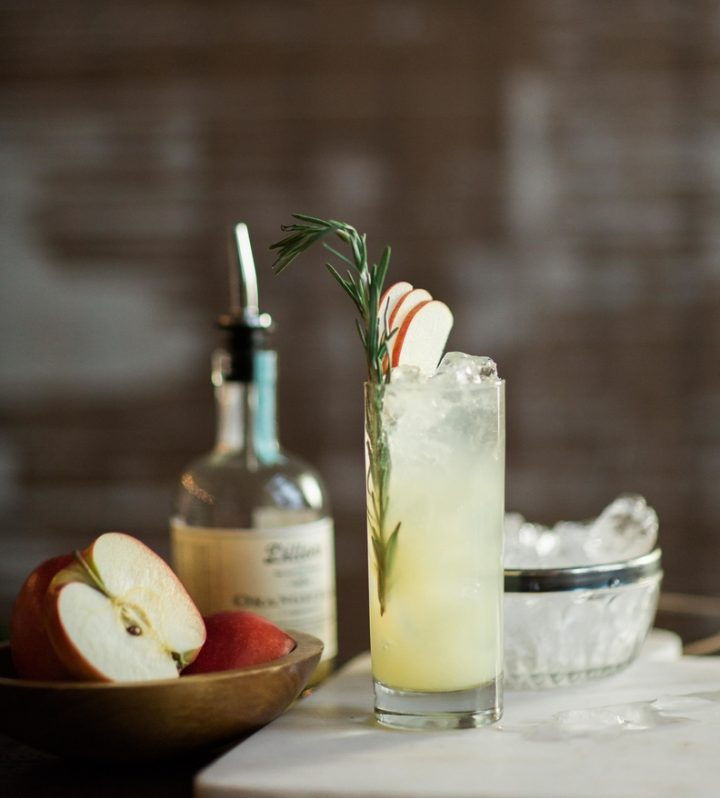 Dillon's Small Batch Distillers (apple cocktail pictured) from Ontario has been selling its vodka and gin in the U.S. through Florida-based ECU Imports, and has plans to export its whisky.