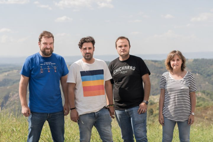 Younger winemakers, including Envínate co-founders Alfonso Torrente, José Martinez, Roberto Santana, and Laura Ramos (pictured) are reshaping Spain's image in the wine industry by focusing on terroir and native varietals.