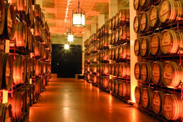 The Beronia label from the traditional Rioja region is driving growth for González Byass (barrels pictured) in the U.S. market, particularly with the recent release of Beronia rosé.