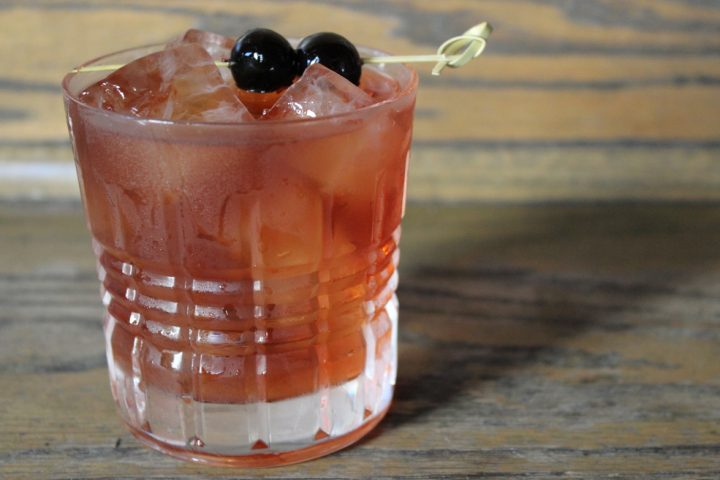 At 20 East in Chicago, the focus is on quality ingredients. The venue's Some Like It Hot Manhattan (pictured) is made only with Basil Hayden's, Lustau Vermut sweet vermouth, and Angostura bitters.