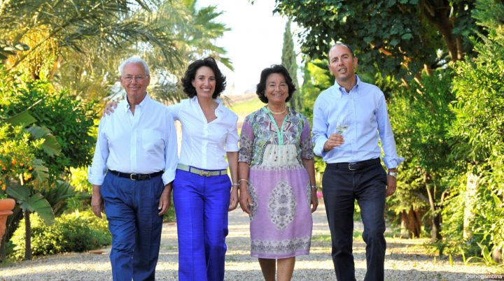 Donnafugata, which is owned by the Rallo family (Giacomo, Jose, Gabriella, and Antonio Rallo above), focuses on indigenous Sicilian grapes such as Nero d'Avola to promote the region. Antonio also serves as president of Sicilia DOC, the largest appellation in southern Italy.