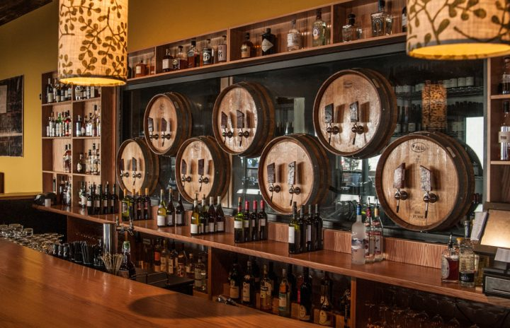 City Winery in Nashville (bar above) currently offers three Sicilian wines. Beverage director Evan Danielson says curiosity about the region is growing among consumers.
