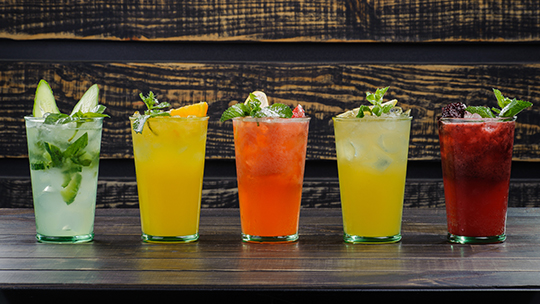 Beverage alcohol retailers, like Exit 9 Wine & Liquor Warehouse in Clifton Park, New York, are getting creative with summer cocktails.