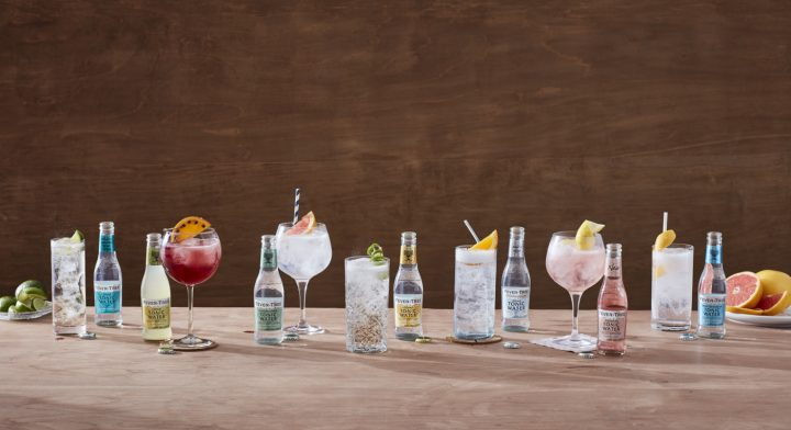 More and more bartenders are supplementing their creations with high-quality brands such as Fever-Tree (brand line-up above).