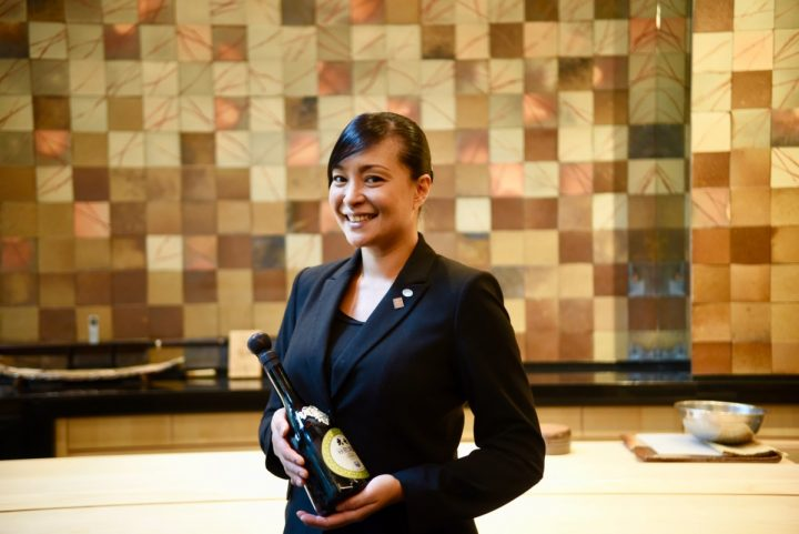 Yuki Minakawa (pictured), beverage and service director for New York City's Sushi Ginza Onodera, displays her Japanese and Brazilian heritages in her cocktails.