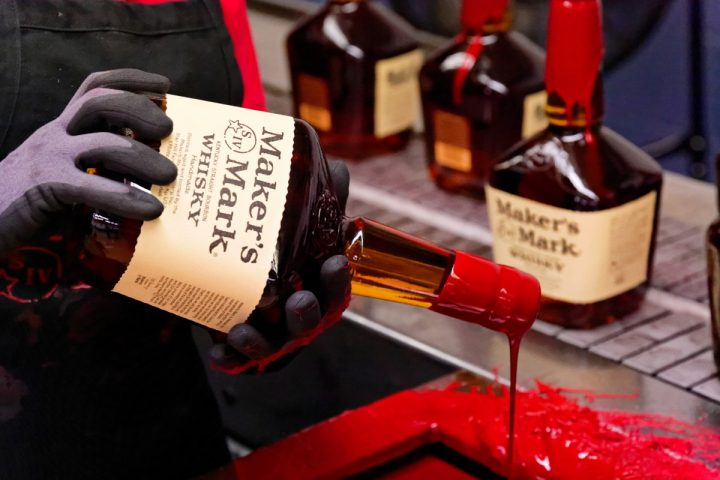 Maker's Mark (bottles pictured) expanded its famed visitor center in Loretto several years ago.