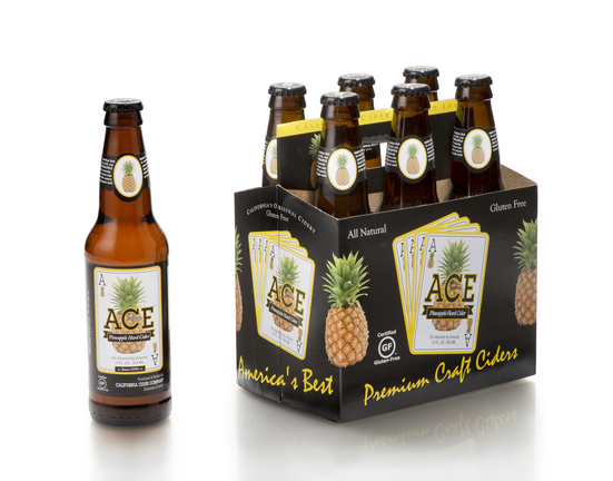 old Rock Hard Cider, California Cider Co.'s Ace Cider (6-pack pictured), and 2 Towns Ciderhouse all returned as Hot Brands in 2018.