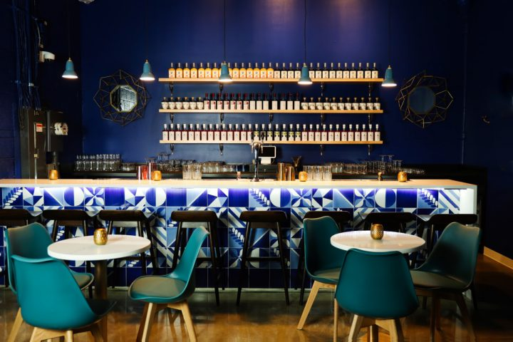 Italian liqueur brand Don Ciccio & Figli opened a new distillery—which includes the on-premise venue Bar Sirenis (interior pictured)—in Washington, D.C. in May. The company aims to bring a taste of Italy's Amalfi Coast to the U.S.