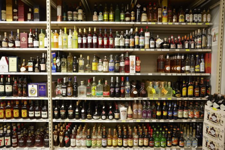 Spirits (shelves pictured) account for 22% of sales at Sparrow, and Luis has seen increased customer interest in whisk(e)y, as well as Tequila and mezcal. Local spirits are also popular at the store, coming from nearby distillers like Corgi Spirits in Jersey City.