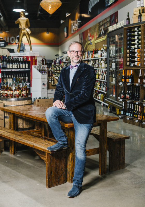A veteran of the Silicon Valley tech and Denver real estate spheres, Rufus Nagel studied the beverage alcohol industry extensively before opening Molly's in 2014. Now, the store embraces technology to keep customers happy.