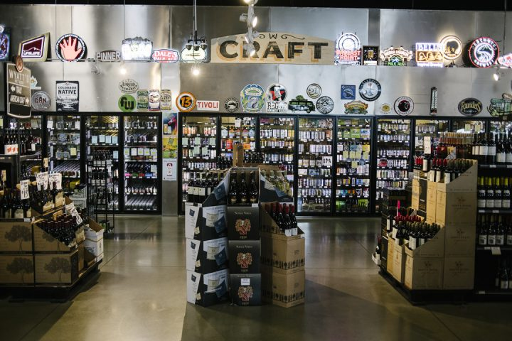 Beer (craft coolers pictured) accounts for 25% of revenue at Wyatt's, which makes sure to stock sought-after brews. (Photo by Matt Nager)