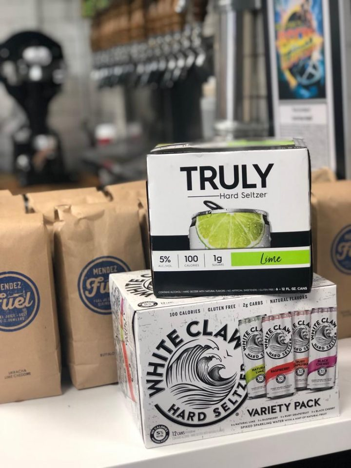 Hard seltzer is extremely popular with millennials at Mendez Fuel's four locations in Miami, with brands Truly and White Claw being the top sellers.