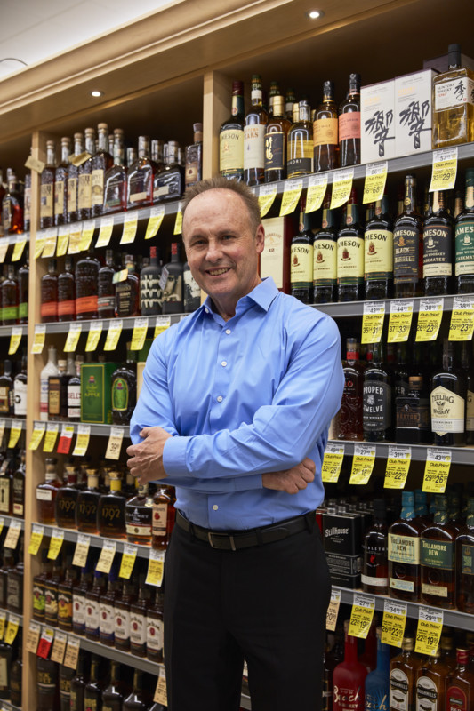 As director of liquor at Vons, Albertsons, and Pavilions locations across Southern California, Phil Markert (pictured) has been instrumental in elevating the retail giant's wine and spirits selection.