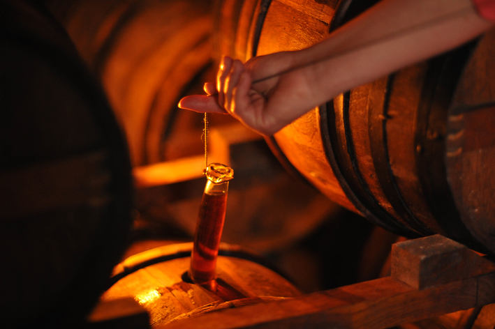 CIL U.S. Wine & Spirits' Camus Cognac (production pictured) jumped 19% to reach 25,000 cases in 2018, showcasing the potential of smaller producers against the market's dominant players.