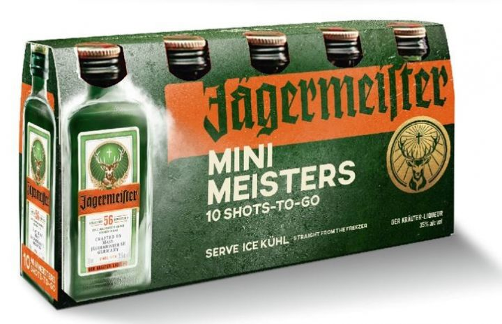 Jägermeister recently released its Cold Brew and Mini Meister labels (pictured), playing into the current trends of coffee flavors and alternative packaging.