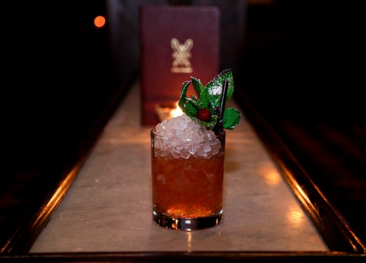 Craft Bourbons are used in cocktails like the Fox Club (pictured) from Holy Ground in New York City.