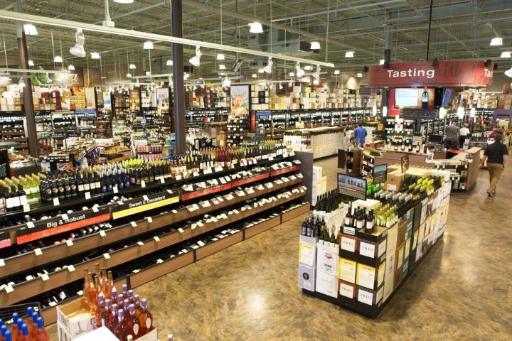 Total Wine (interior pictured), which has a mega-store on Long Island, is appealing the New York State Supreme Court's decision to deny the retail chain a second liquor license.