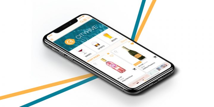 More than 1,000 U.S. beverage alcohol retailers, including New Jersey-based Gary's Wine & Marketplace, have partnered with City Hive (pictured) to create their apps.