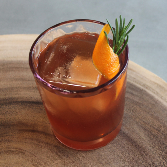 The traditional base of classic cocktails, brandy is now appearing in more modern drinks, like the Sugar Plum Sloe Dance (pictured) from Bull & Butterfly.