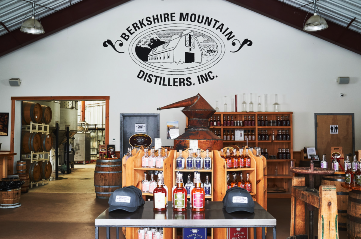 Though BMD's distribution footprint has grown to encompass 19 states, the local community remains paramount. Local bartenders routinely make drinks in the tasting room (pictured), and Weld is looking to host more community events at the distillery in the future.