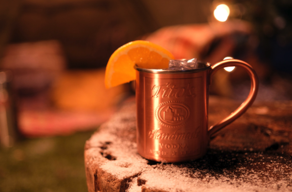 After a meteoric rise, Tito's (Yuletide Mule cocktail pictured) is closing in on Smirnoff as the No.-1 vodka in the U.S. The brand, which had fewer than 500,000 cases in 2010, reached 8.8 million cases in 2019.