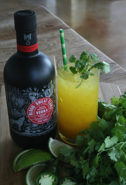 Oregon's Blood x Sweat x Tears vodka (Spicy Mango Caipiroska cocktail pictured) is rolling out nationwide as it looks to replicate the success of Tito's.