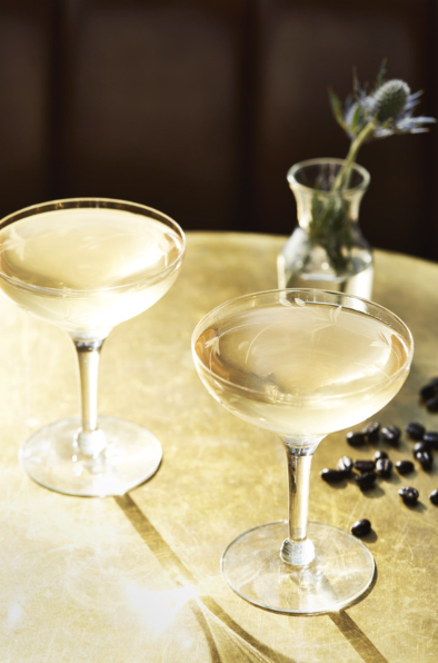 Many domestic vodka brands, including Campari America-owned Skyy (Martinis pictured), are focusing on their American identities to connect with consumers.