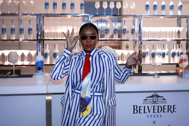 As imported vodka continues to lead in the super-premium tier, No.-3 brand Belvedere is looking to capture the magic of artisanal styles with its single-estate offerings as well as its partnership with singer and actress Janelle Monáe (pictured).
