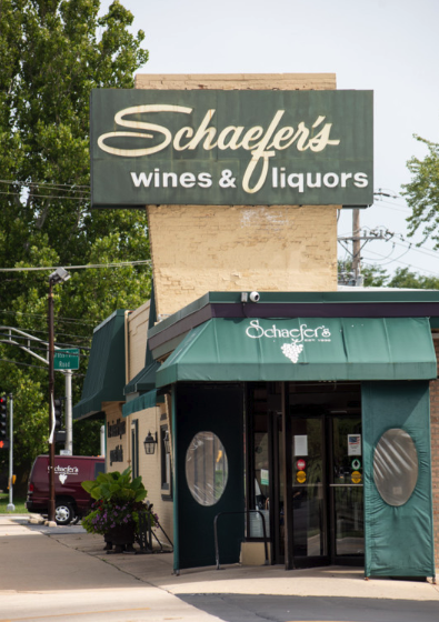 Schaefer's (exterior pictured) is thriving despite a recent rash of mom-and-pop wine shop closures in the Chicago market.