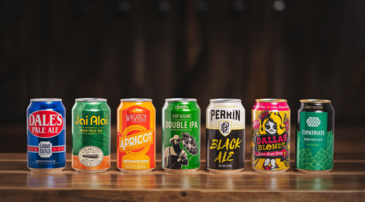 Canarchy Craft Brewery Collective now has a portfolio (flagship lineup pictured) that includes seven independently run brands from across the country, including national best sellers Dale's pale ale from Oskar Blues and Jai Alai IPA from Cigar City in Florida.