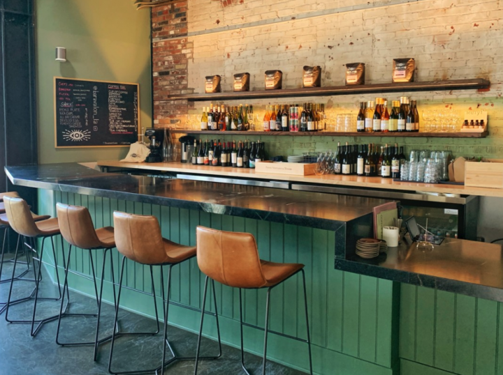 Nathaniel Muñoz, general manager at Bar Avalon (interior pictured), says that California wine is popular on-premise because of its approachability.