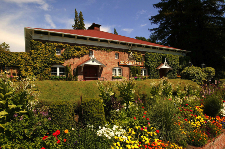 Korbel Champagne Cellars (winery pictured) offers wine cocktail recipes on its website as a way to connect with consumers.