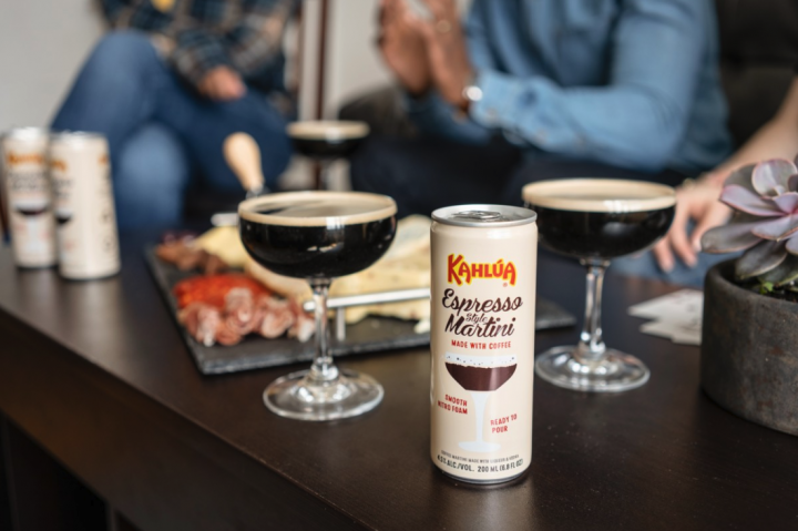 Last year, Kahlúa launched the canned Espresso Style Martini (top), moving away from its traditionally sweet and heavy style.