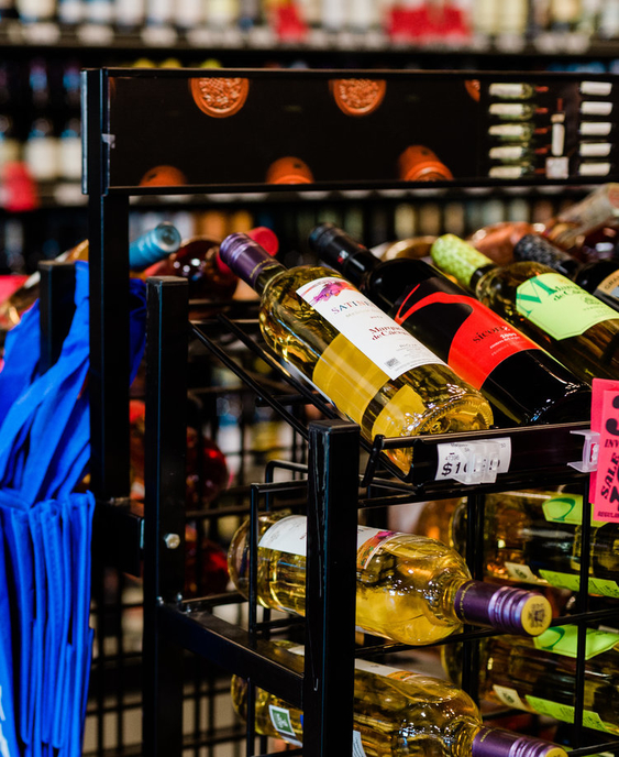 As space increases at Cap n' Cork (wine display pictured) units across Fort Wayne, co-owner Andy Lebamoff is stocking wines from around the globe, including Kendall-Jackson, Opus One, and Man Vintners.