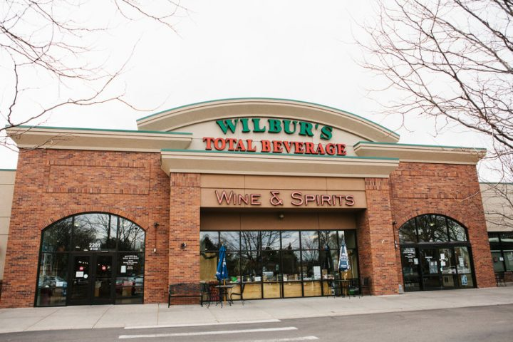 Purchases on the Wilbur's Total Beverage (pictured) app are split evenly among beer, wine, and spirits, despite the fact beer accounts for less than 20% of in-store purchases, according to owner Mat Dinsmore.