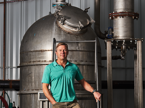Berkishire Mountain Distillers founder Chris Weld (pictured) continues to champion gin even as whiskey plays an increasingly important role at the distillery.