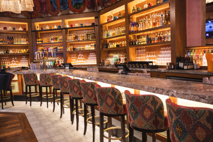 While nightclubs are Big Night's main venue styles, the company also partners with celebrity chef Guy Fieri on two venues, including Tequila Cocina (interior pictured).