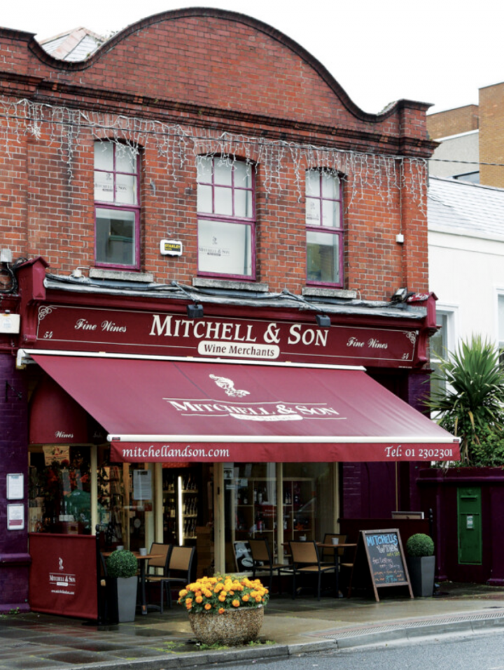 As the modern popularity of the Spot range grows, Mitchell & Son remains a fixture in the Dublin retail scene, with one location in the city center and another just south in Sandycove (pictured).