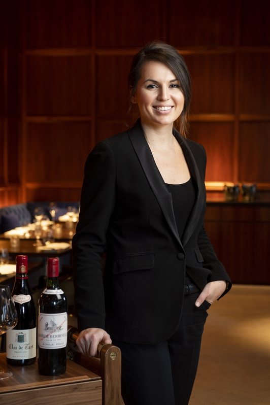 Amy Racine (pictured), wine director at New York City's Terrace, is seeing growing customer interest in Pinot Noir from New Zealand.