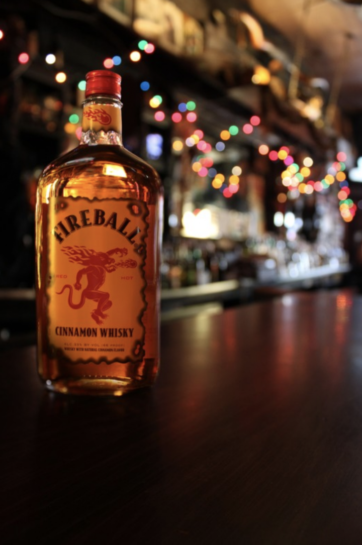 Fireball leads the charge in the flavored whiskey space. Last year, its volume jumped 8% to 5.21 million cases, according to Impact Databank.