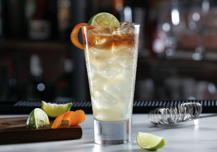 Nostalgic cocktails from the 1990s are making comebacks in bars and restaurants like TGI Fridays (Ultimate Long Island Iced Tea pictured).